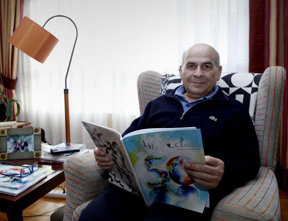 Prego é o coordinador da revista «Alameda»