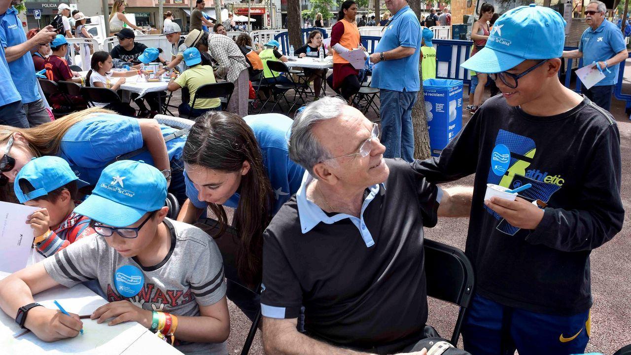 «Los ahorros son sagrados», dijo Isidro Fainé para justificar el cambio de sede social de CaixaBank a Valencia