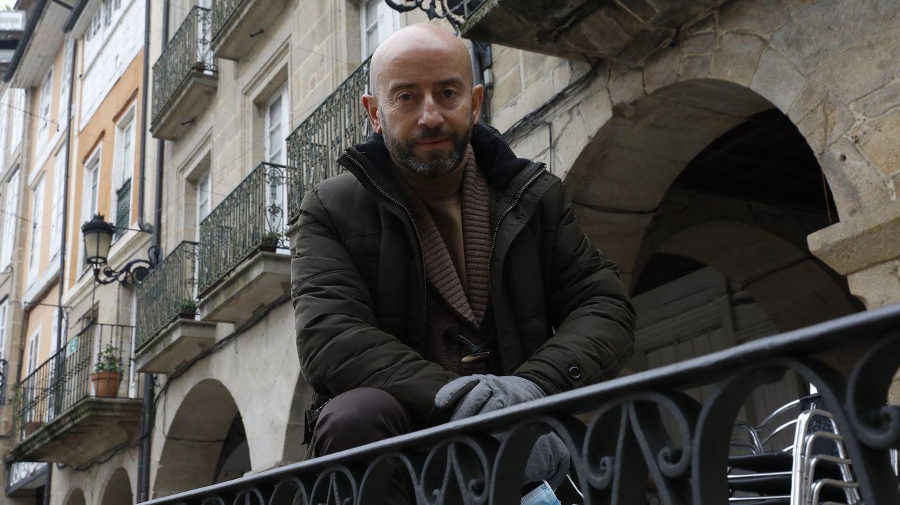 La trayectoria de Emilio Cuesta, en fotos.José Araújo (Ciudadanos)