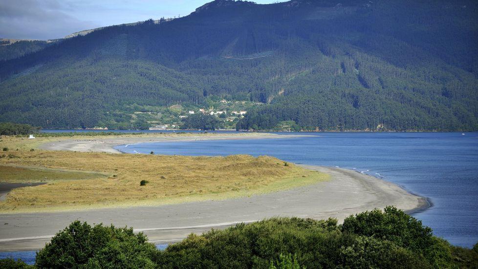 Playa de Morouzos, en Ortigueira