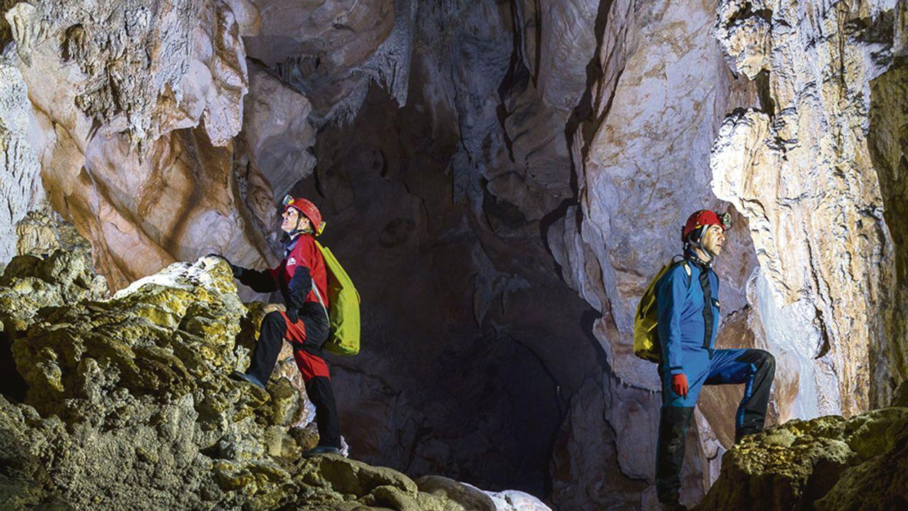 Cueva Güerta. /La Voz del Trubia
