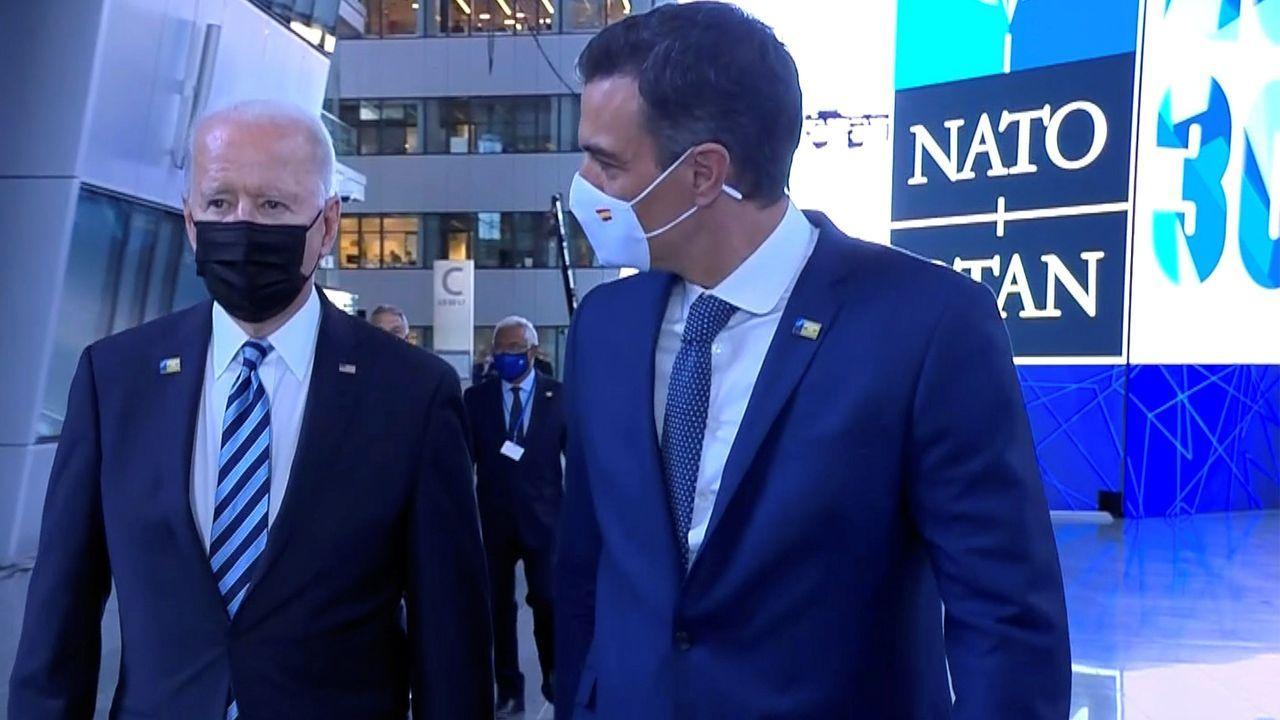 Regreso de la Méndez Núñez a Ferrol tras cuatro meses con la OTAN.Alejandro Mayorkas Secretario de Seguridad Nacional de Estados Unidos