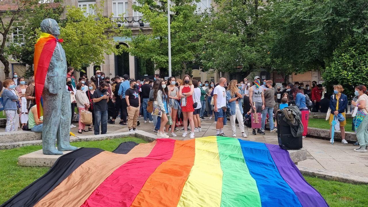 Manifestación en Ourense