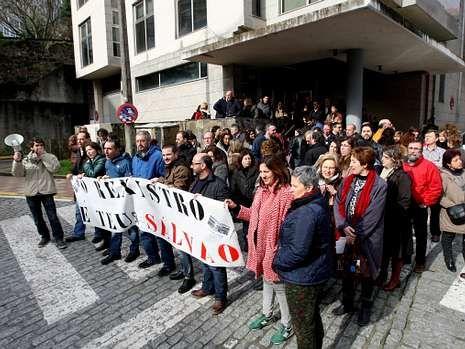 Los proyectos de Gallardón generaron numerosas protestas.