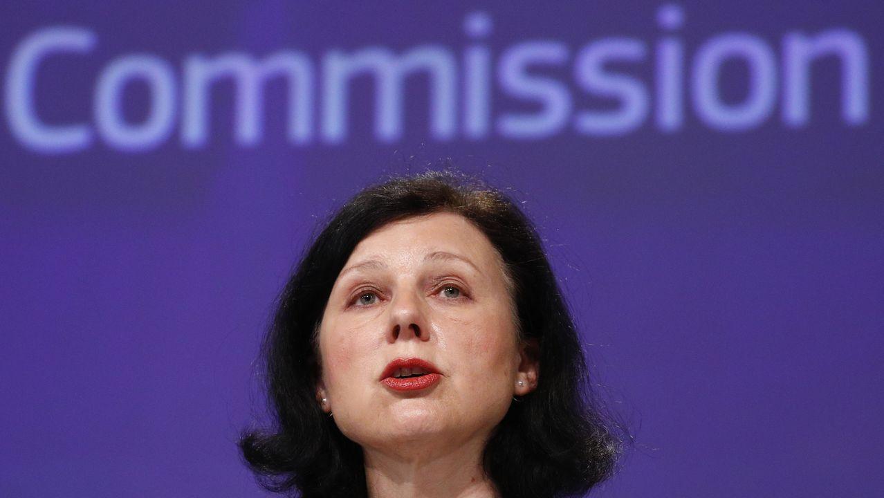 La comisaria europea para los Valores y la Transparencia, Vera Jourová