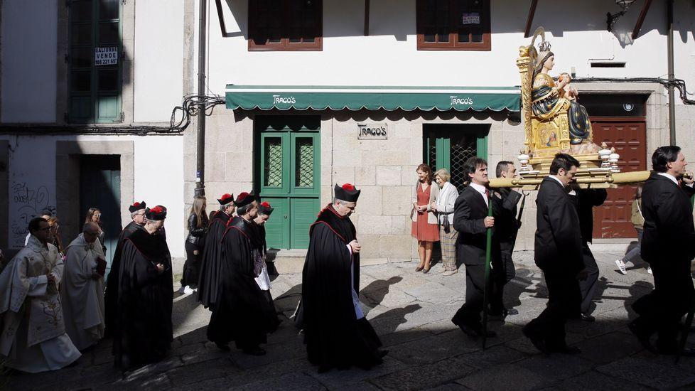 Procesión de Santa María Nai (Ourense).