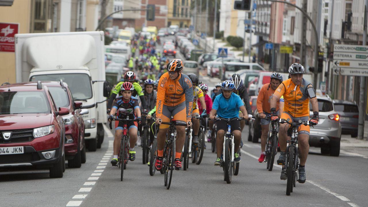 ¡Mira cómo fue el Día da Bicicleta de Cee! ¡Búscate en las imágenes!