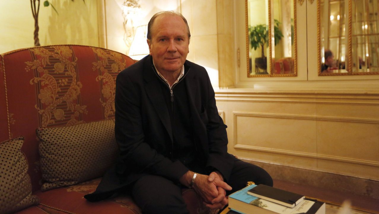 William Boyd admira la obra de Stevenson y Chéjov