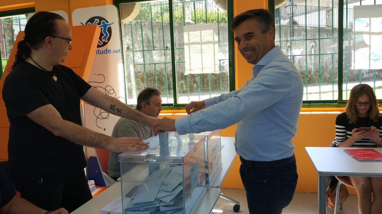 Andrés Pérez, candidato PP Pontedeume
