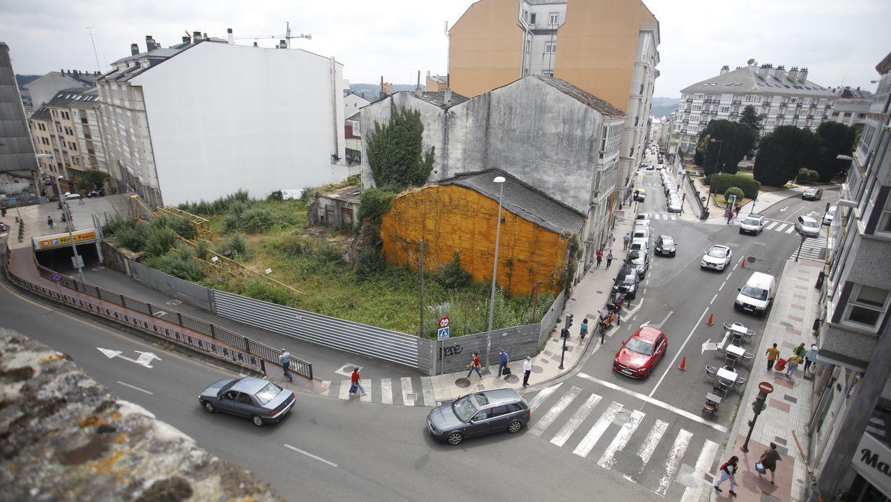 El solar de San Roque esquina con la Ronda lleva más de 16 años sin edificios tras el derribo de casas abandonadas