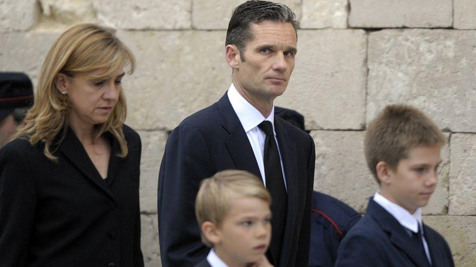El exedil Javier Rodrigo el día de su declaración ante el juez Castro
