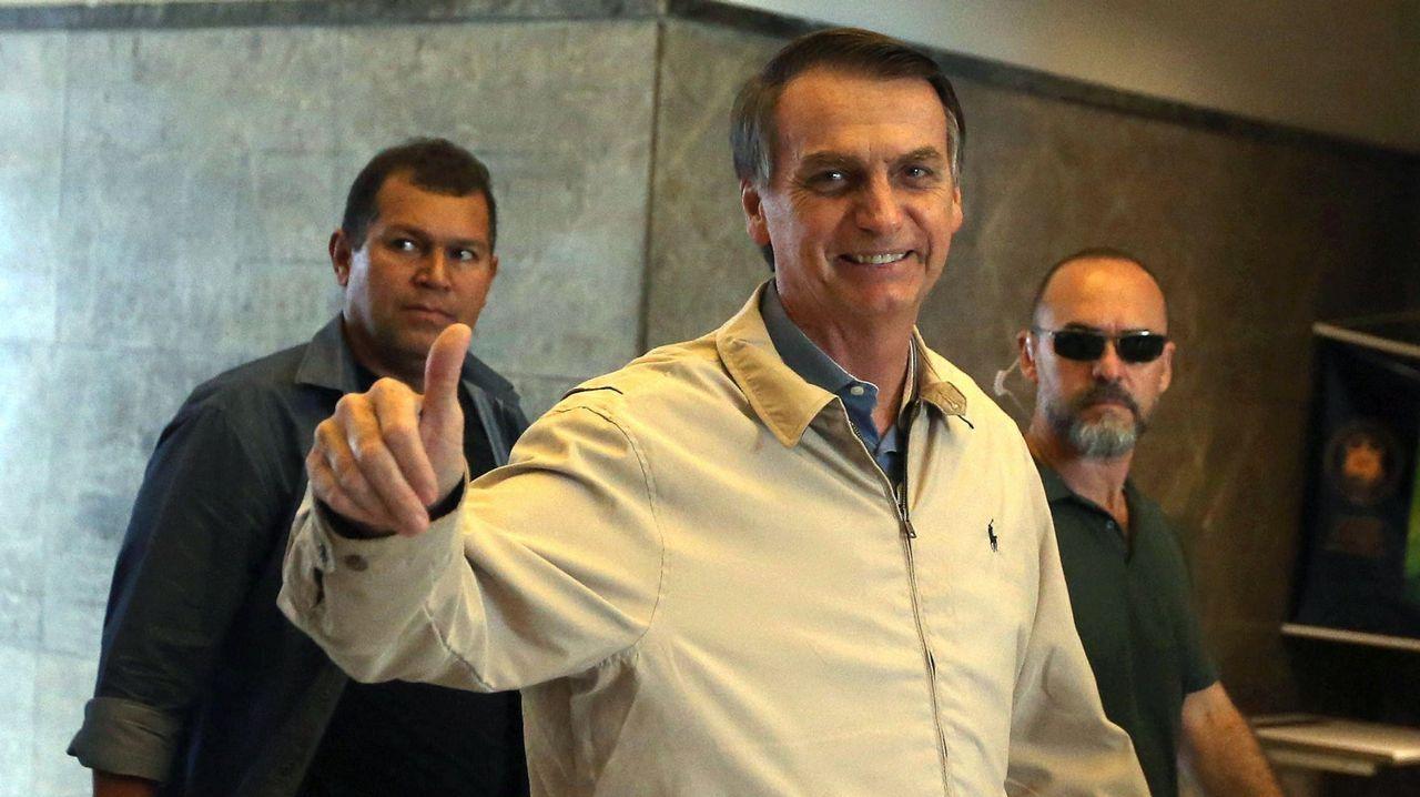 Seguidores de Bolsonaro y Haddad discuten en Río tras conocer el resultado