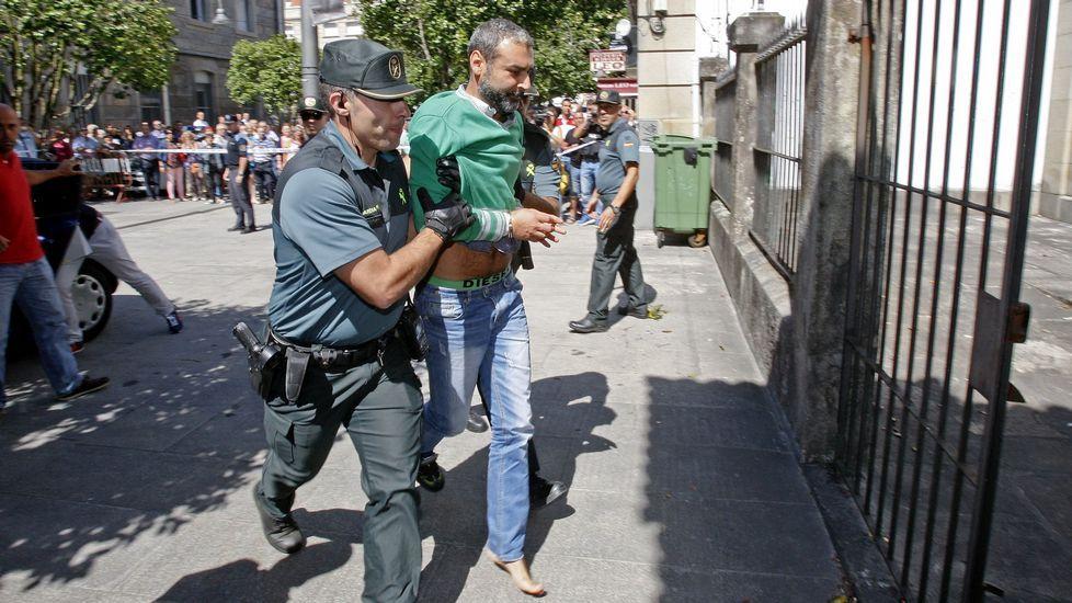 El fiscal insiste en la prisión permanente revisable para el parricida de Moraña