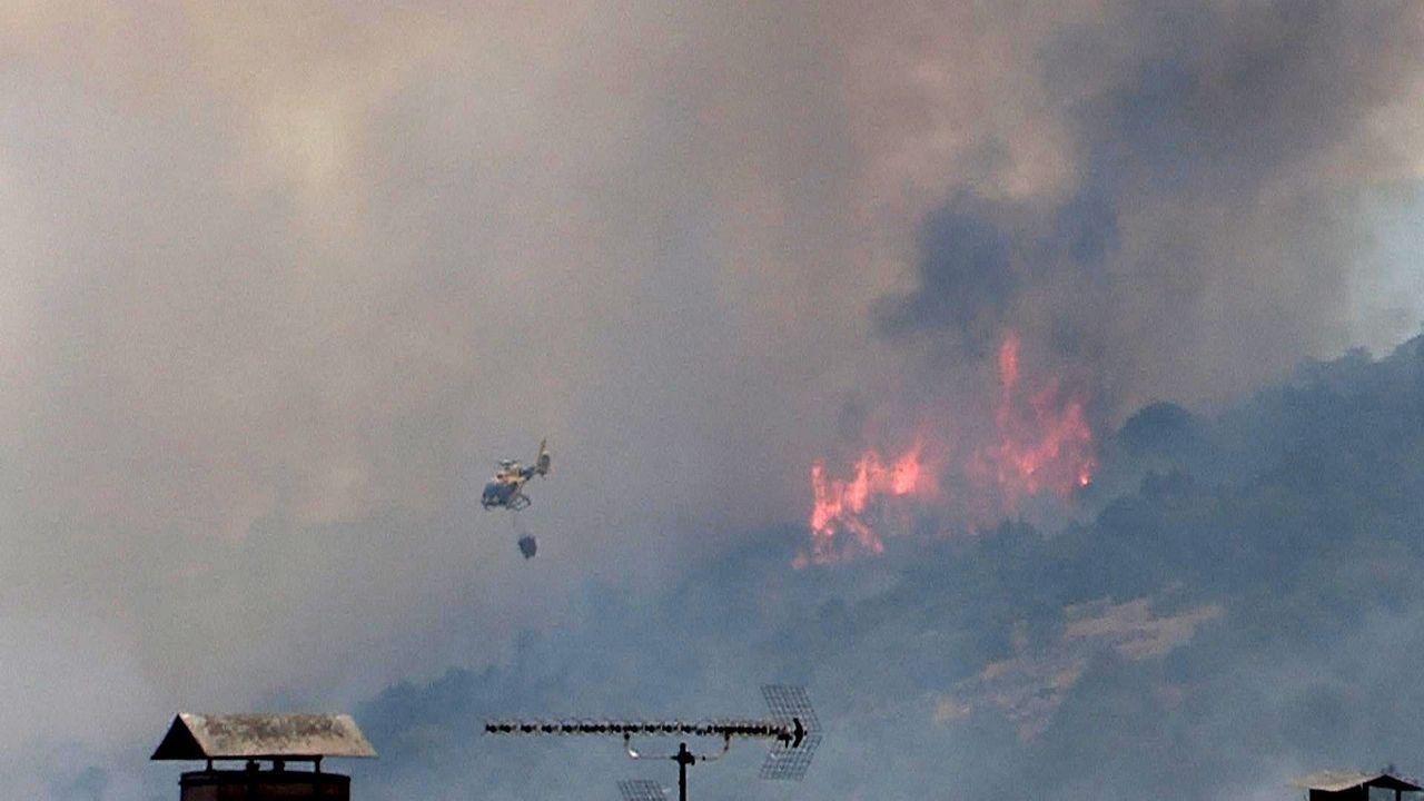 Los incendios forestales en España.Cayetana Álvarez de Toledo y Pablo Casado, en un acto electoral en Barcelona