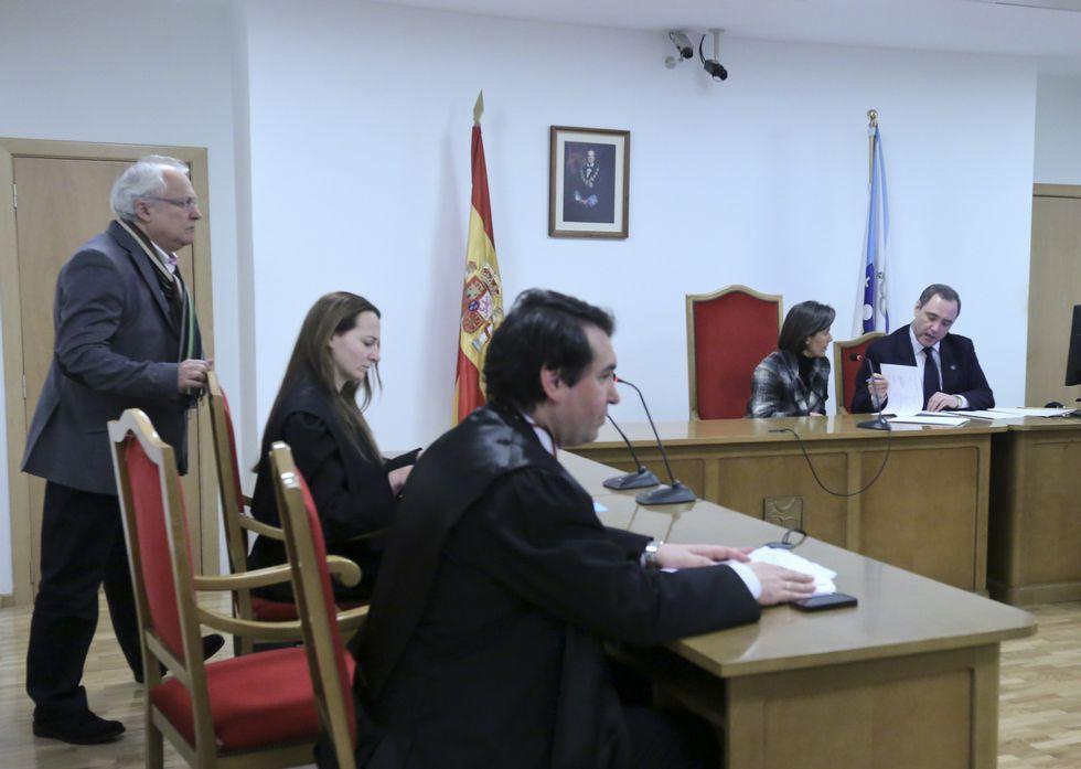 Reunión en el Juzgado Mercantil de la junta de acreedores de Proasur.