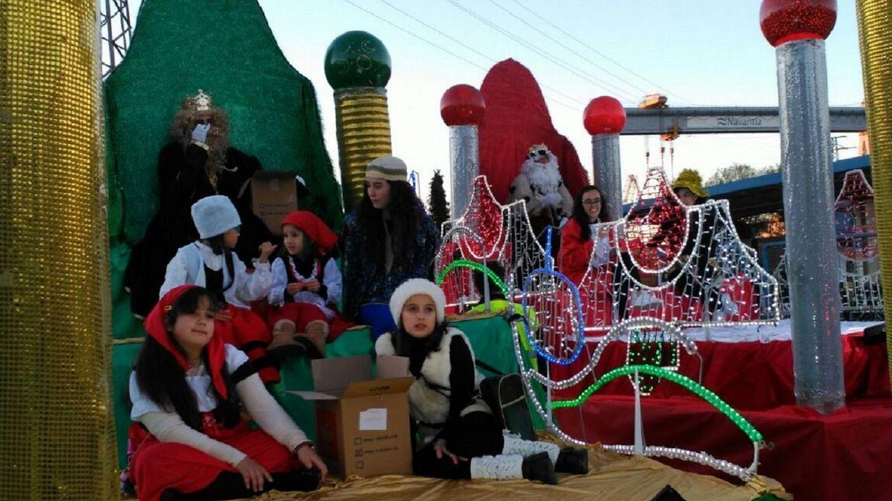 Caballero promete buen tiempo para la Cabalgata de Reyes.Cabalgata de Reyes de Oviedo