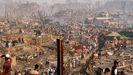El devastador incendio destruyó por completo el campamentode Balukhali, en el distrito de Cox's Bazar.