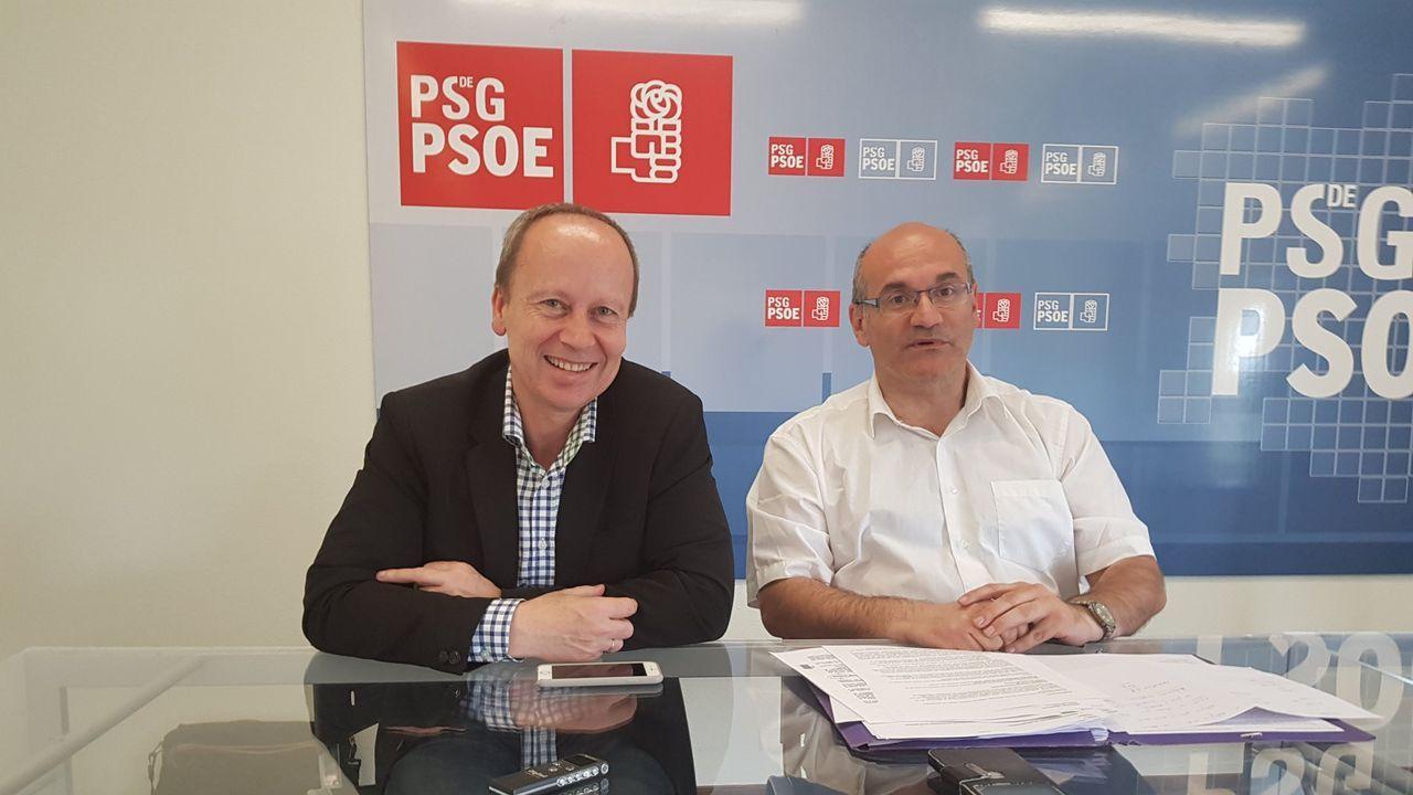 Rafael Rodríguez Villarino y Luis Gulín
