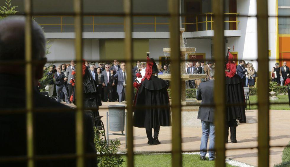 La prisión de Pereiro, en el transcurso de los actos oficiales del Día de la Merced.
