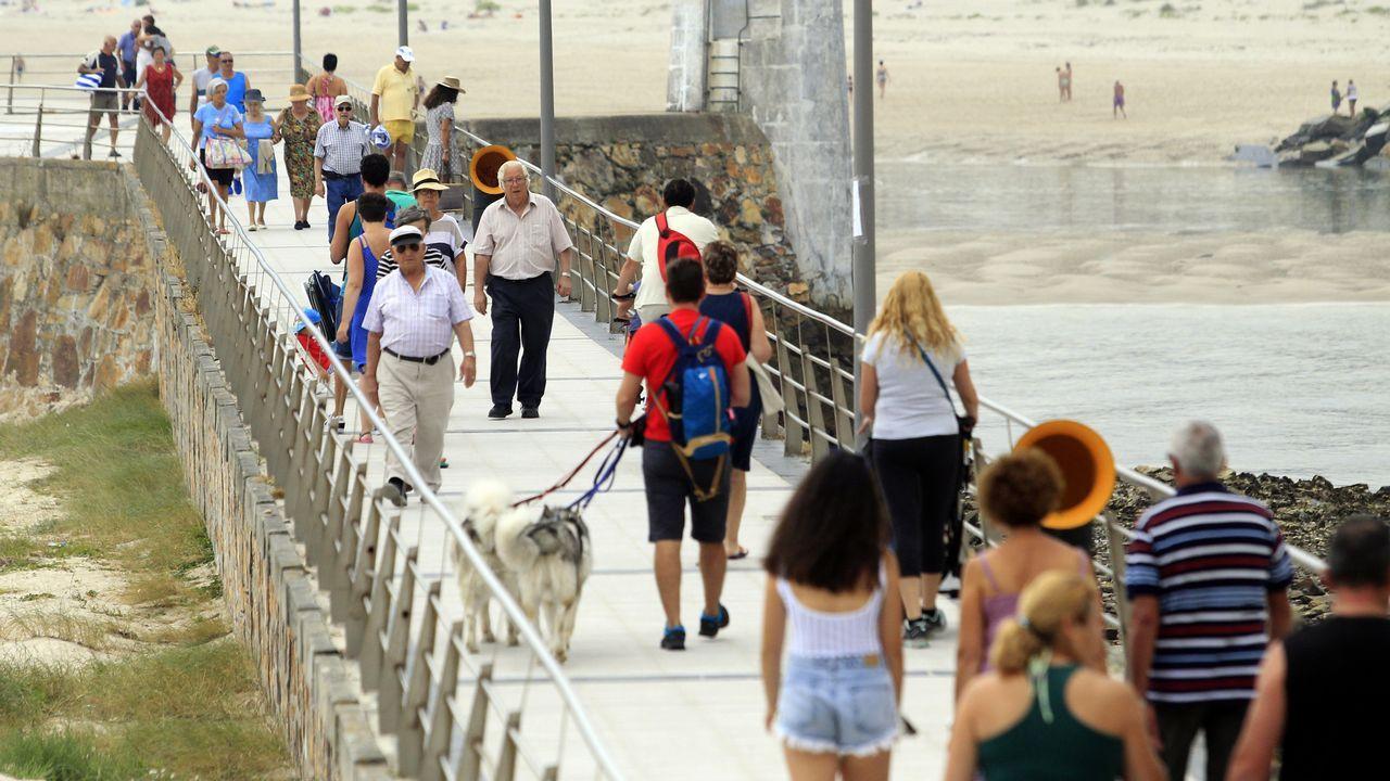 Recorrido por la «zona cero» de la sequía en Galicia
