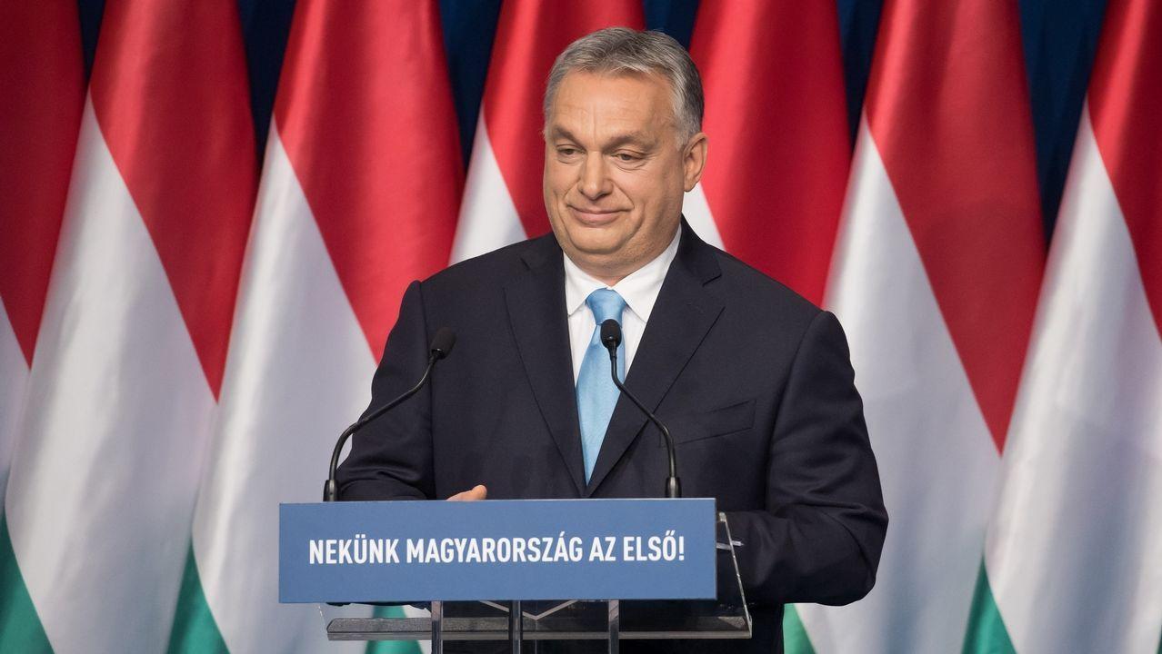 |EFE.El primer ministro húngaro, Víktor Orban,  afronta una gran ofensiva política