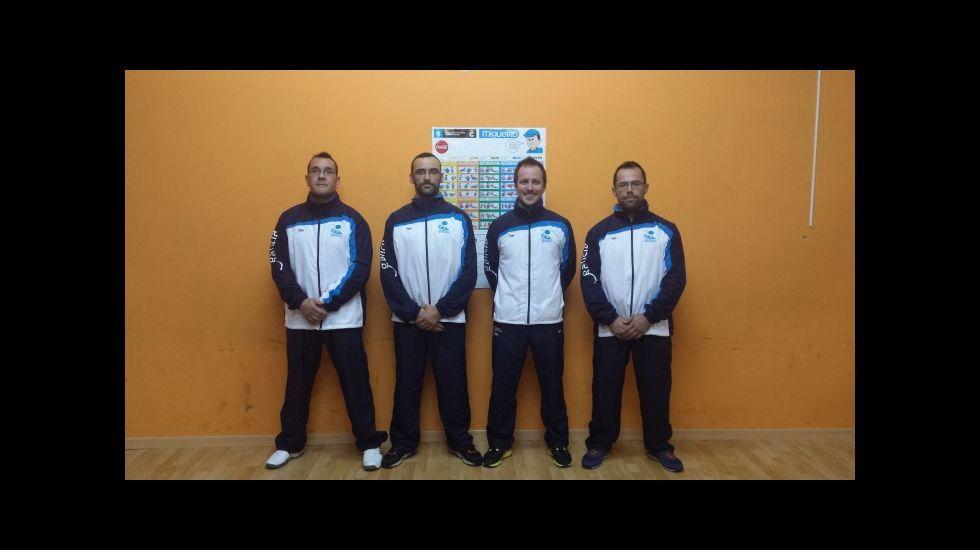 La AD Ferrolterra tuvo cuatro deportistas en Ámsterdam