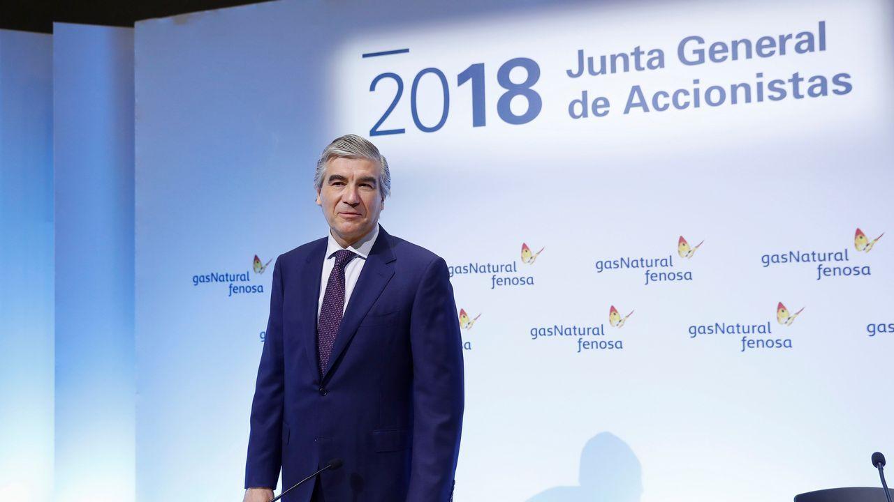 Francisco Reynés, en la Junta General de Accionistas de Gas Natural Fenosa