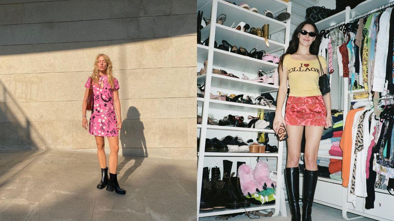Dos looks muy Y2k de Laura Tonder y Devon Lee Carlson