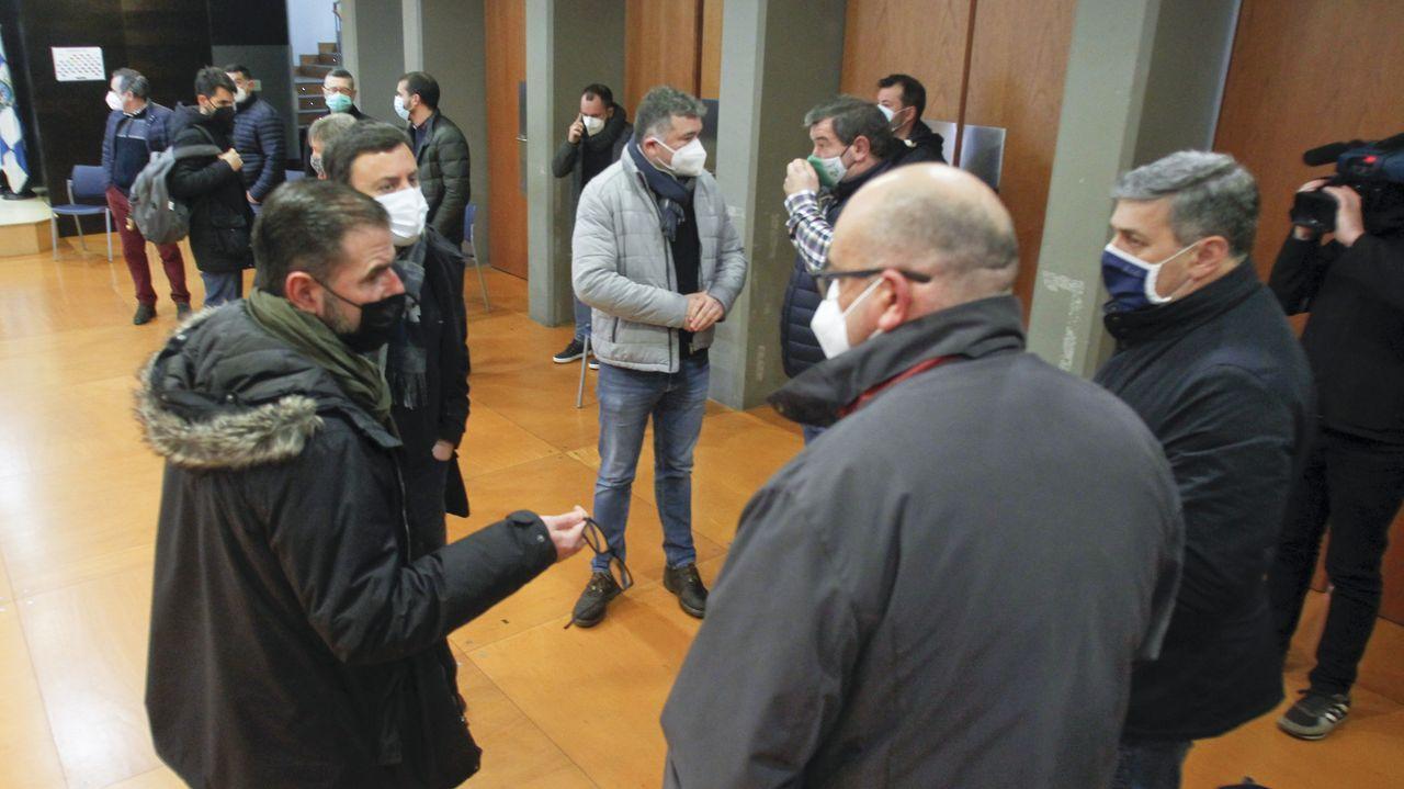 Los alcaldes socialistas se reunieron en la sede del Toxos