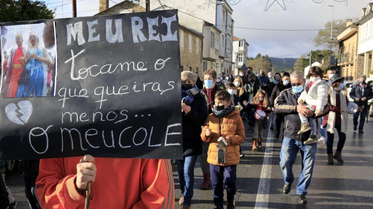 En Baamonde se han organizado varias protestas contra el cierre del colegio