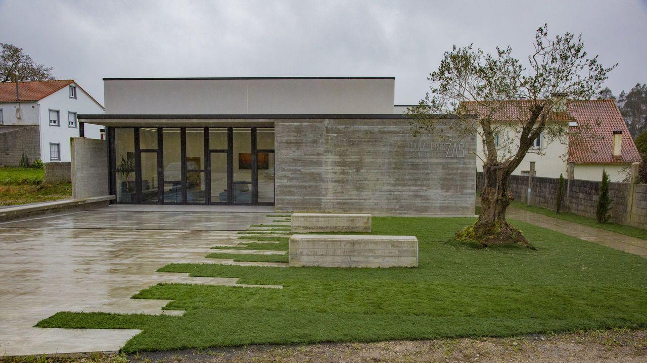 Visita esta mañana a las instalaciones de la nueva residencia pública de personas mayores de Lugones