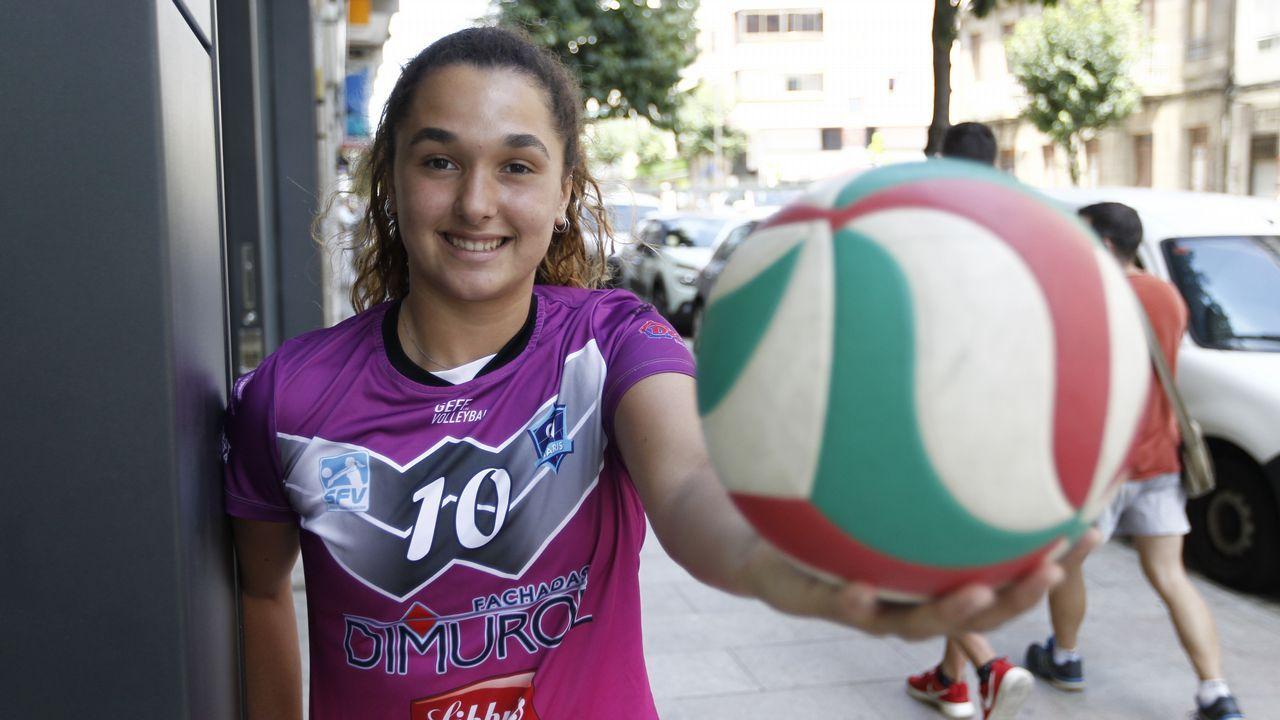 ¡Así fue la emocionante jornada para el Voleibol Dumbría!