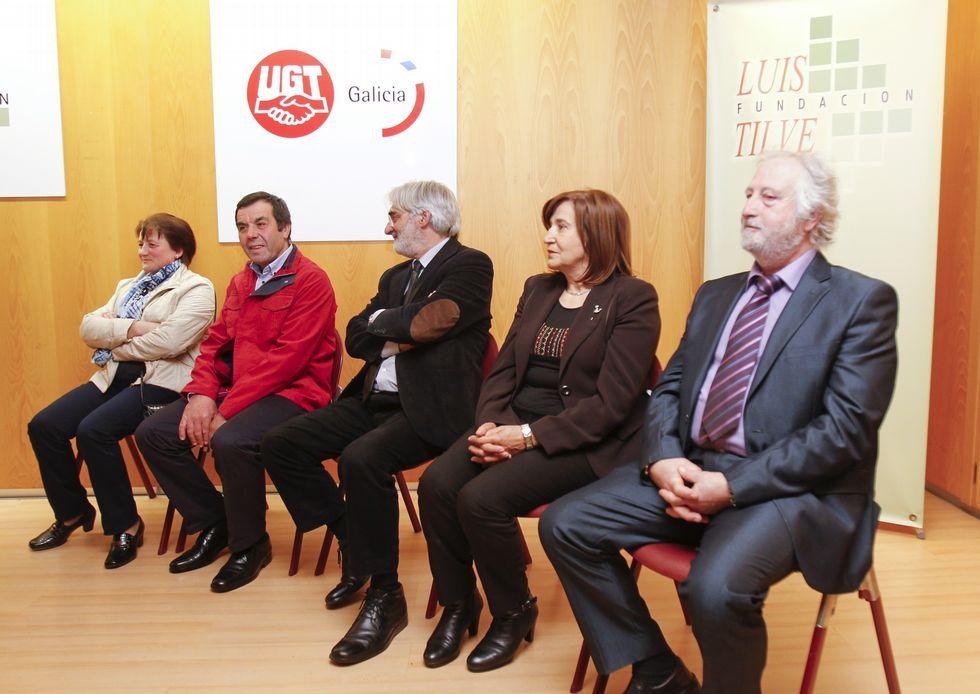 En la imagen, los premiados de la décima edición.