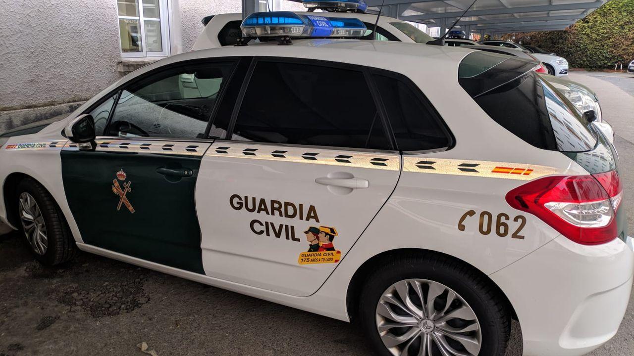 Inundaciones en Cambados.Juzgados Oviedo