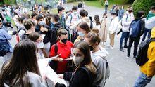 Primera jornada de selectividad en Galicia. Imagen de Santiago