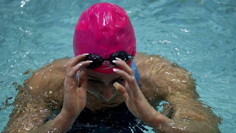 El brindis de las deportistas gallegas.Belmonte tendrá un Mundial como ensayo de Río.