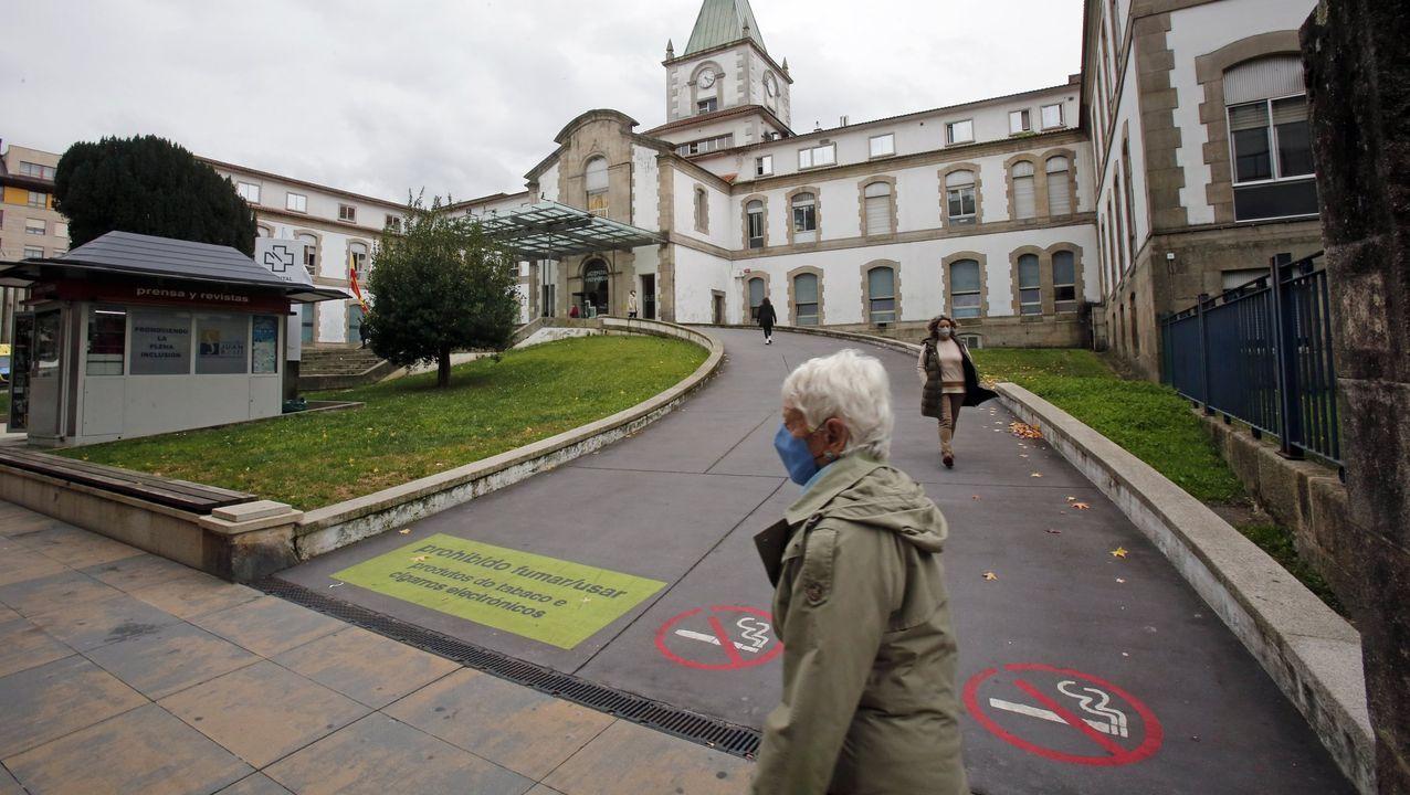 La factoría Foresa, donde se produjo el accidente, está ubicada en la avenida de Doña Urraca, en Caldas de Reis