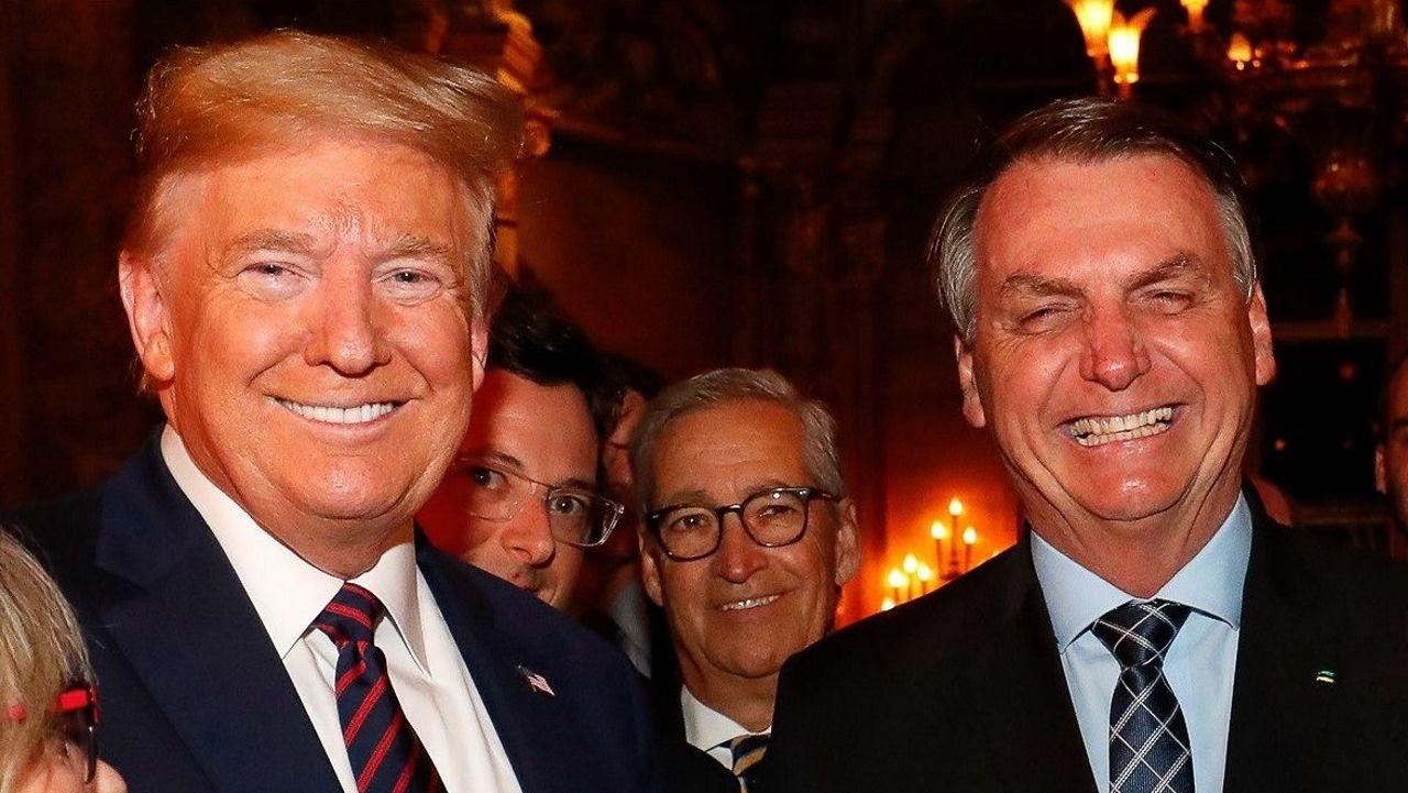 Trump y Bolsonaro