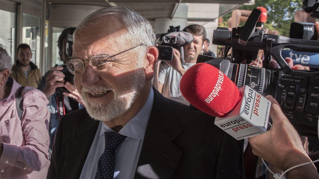 Juan Cotino, exvicepresidente de la Generalitat, en una imagen de archivo