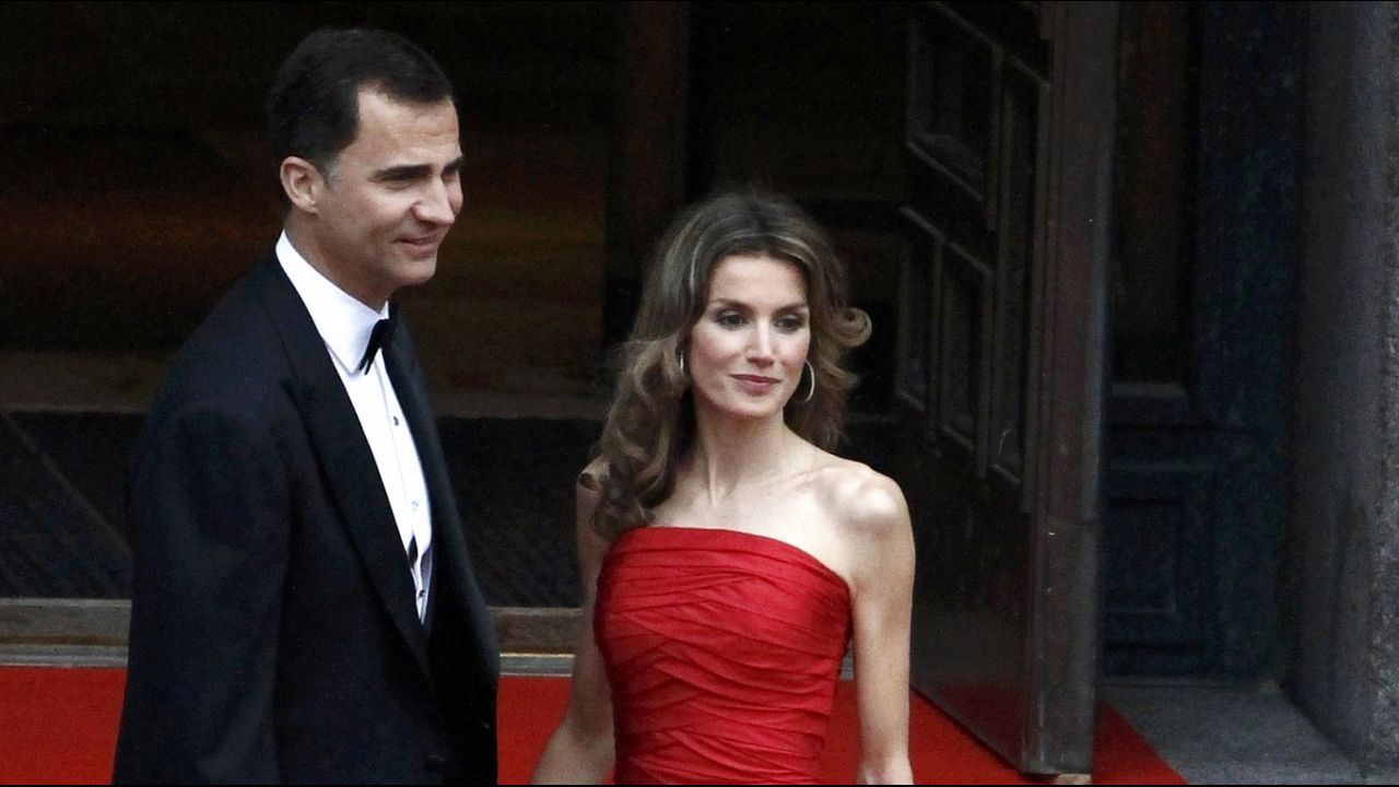 2010. En la boda de la princesa Victoria y Daniel Westling en Estocolomo