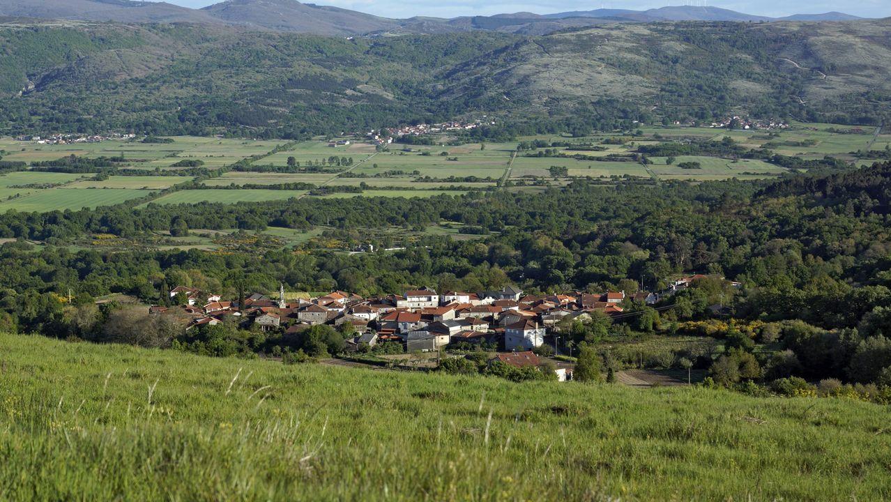 Así ha castigado el temporal a Ourense.Una de las Casas Niño que ya funciona es la de A Gudiña