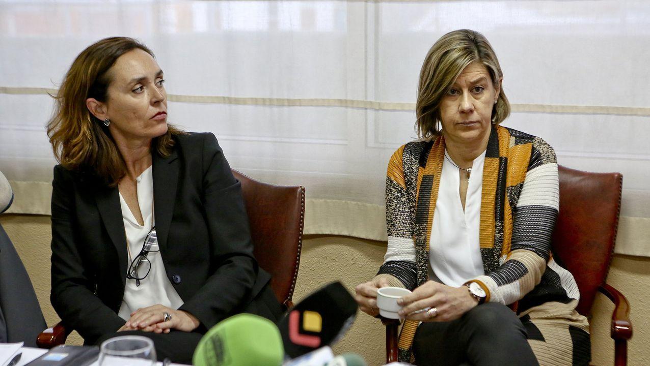 María Luisa Brandt, a la derecha, con Elisa Tarazona, directora asistencial del Grupo Ribera Salud
