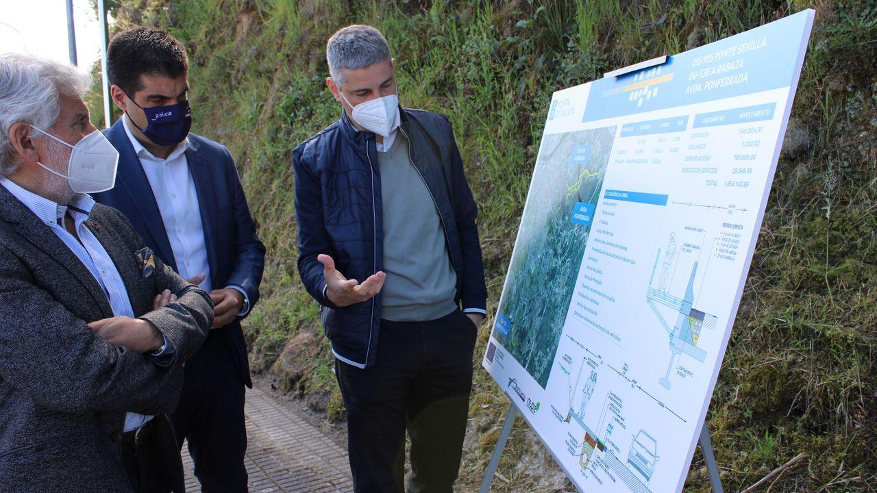 El delegado de la Xunta presentó este viernes los proyectos de las sendas