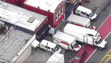 Encuentran en Nueva York un centenar de cadáveres en camiones de mudanza