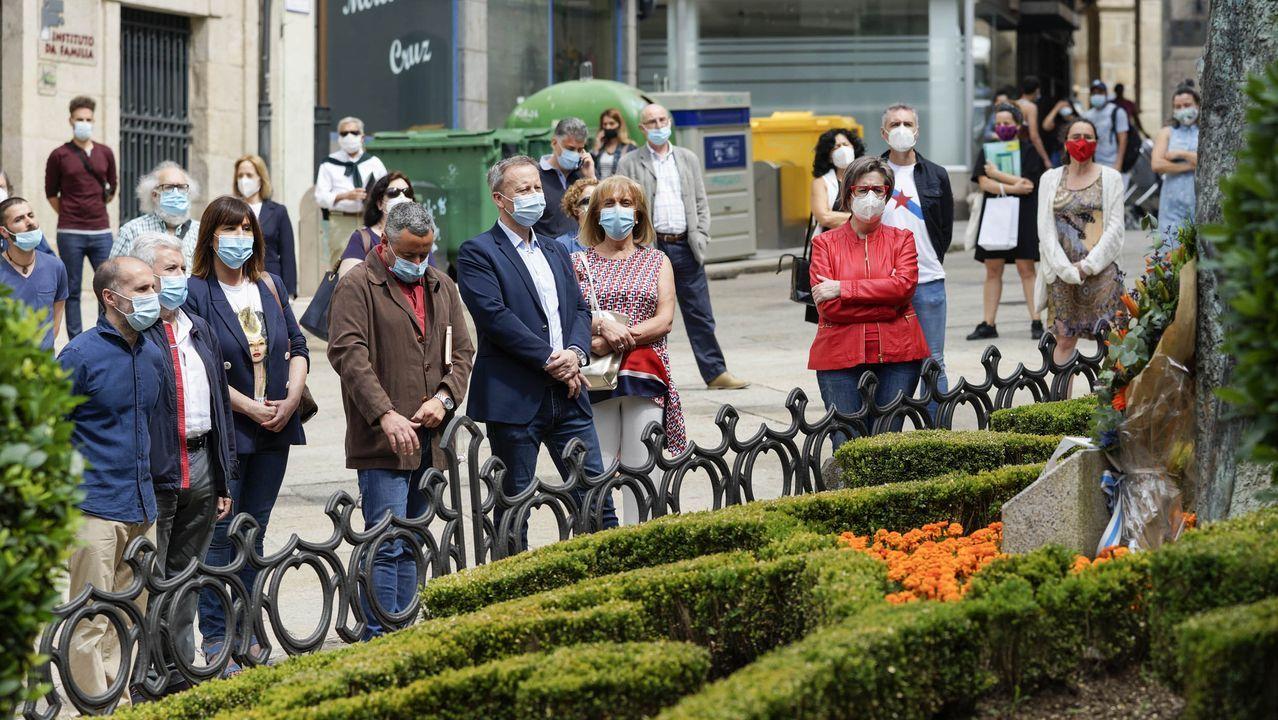 Acto de homenaxe a Alexandre Bóveda en Ourense