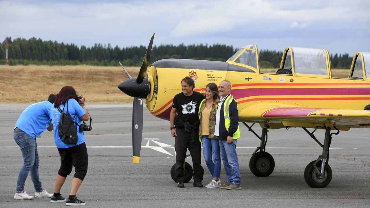 El Criterium llena Rozas de amantes del vuelo.Fotografía da operación Muralla Limpa, en 1972