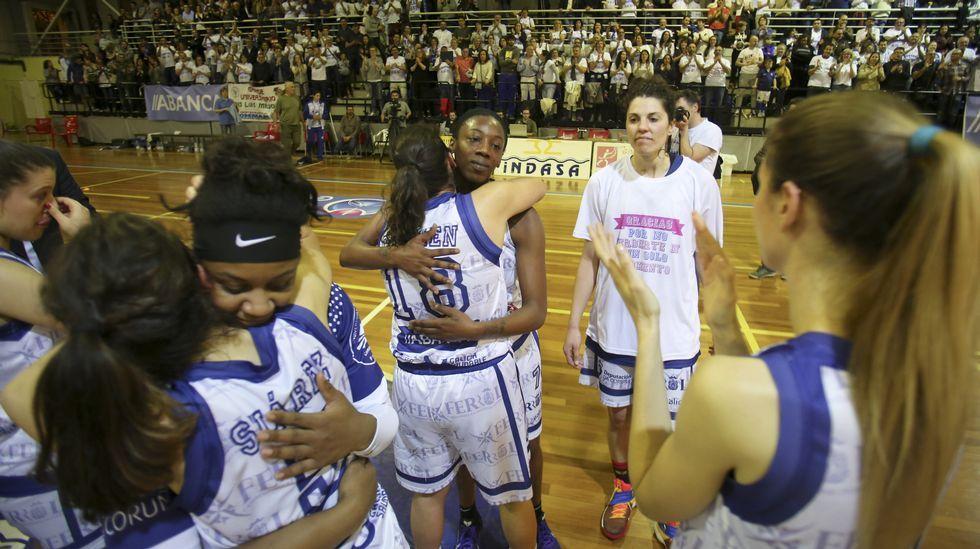 Lasfuturas promesas rojillas juegan en Marín.El Obradoiro encadena seis temporadas seguidas en la ACB.