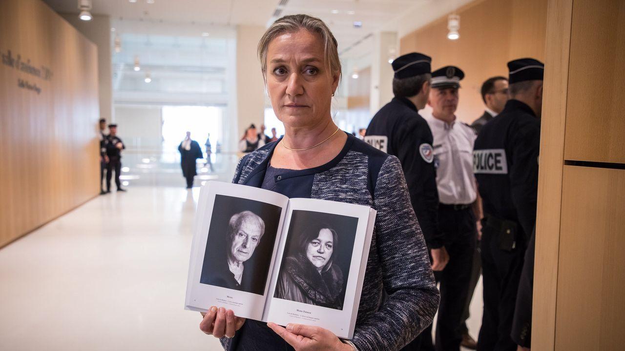 Irene Frachon, la doctora que destapó el peligro del medicamento, con ujn libro sobre las víctimas
