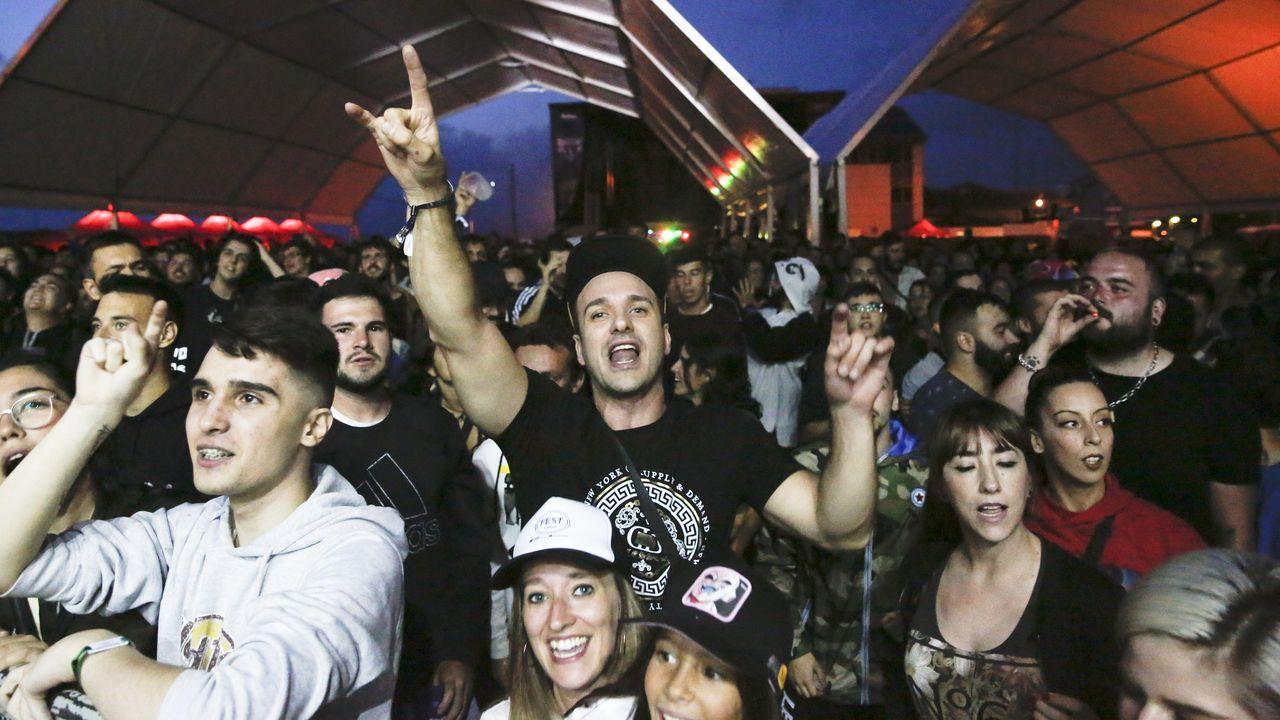 Las imágenes del festival Revenidas.Pórtico de peaje en una autovía portuguesa