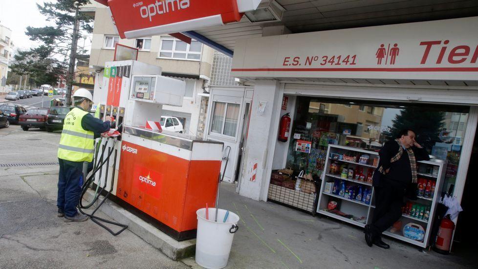 Precintan la gasolinera de Santa Cruz